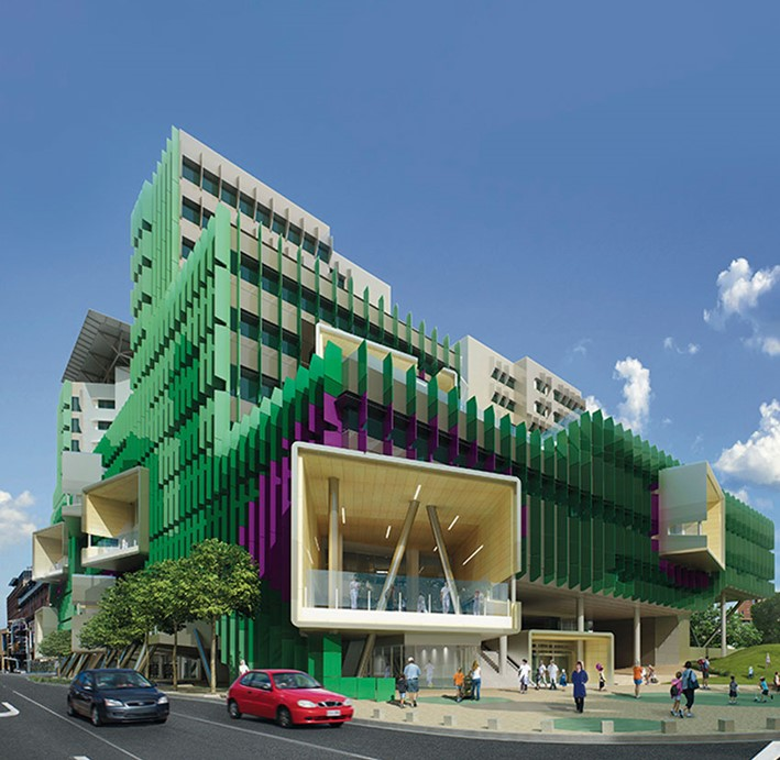 QUEENSLAND CHILDRENS HOSPITAL, BRISBANE