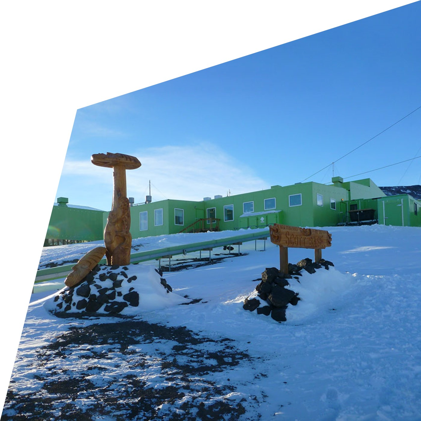NZ Hillary Field Centre Upgrade, ANTARCTICA